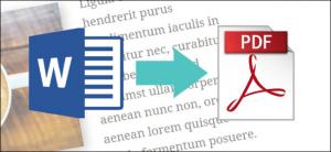 Cara Mengubah atau Mengonversi Dokumen Word ke PDF